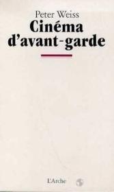 Cinema D'Avant Garde - Couverture - Format classique