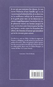 Trois Siecles D'Amour - 4ème de couverture - Format classique