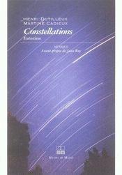 Constellations entretiens - Intérieur - Format classique