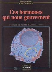 Ces Hormones. - Couverture - Format classique