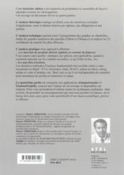 Marchés financiers ; analyse théorique, analyse technique, analyse pratique, application gammsounder (3e édition) - 4ème de couverture - Format classique