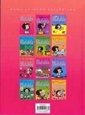 Mafalda - 4ème de couverture - Format classique