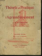 Theorie Et Pratique De L'Agrandissement - Couverture - Format classique