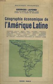 Geographie Economique De L'Amerique Latine - Couverture - Format classique
