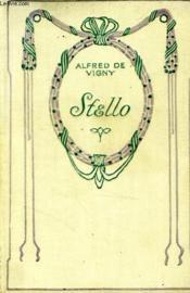 Stello. - Couverture - Format classique