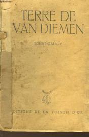 Terre De Van Diemen - Couverture - Format classique