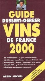 Guide Dussert Gerber Des Vins De France 2000 - Intérieur - Format classique