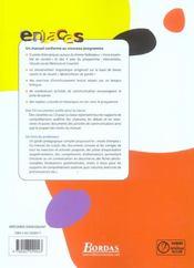 ENLACES ; ENLACES (édition 2004) - 4ème de couverture - Format classique