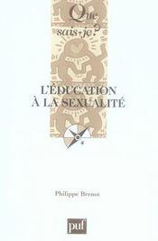 L'éducation à la sexualité (2e édition) - Intérieur - Format classique