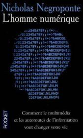 L'Homme Numerique - Couverture - Format classique