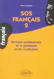 Sos français t.2 - Intérieur - Format classique