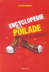 Encyclopedie De La Poilade - 1000 Blagues ! - Intérieur - Format classique