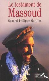 Le Testament De Massoud - Intérieur - Format classique