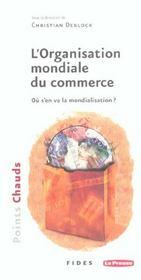 Organisation mondiale du commerce - Intérieur - Format classique