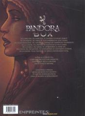 Pandora box T.5 ; l'avarice - 4ème de couverture - Format classique