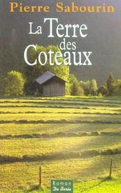 Terre Des Coteaux (La) - 4ème de couverture - Format classique