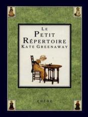 Le Petit Repertoire - Couverture - Format classique