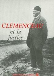 Clémenceau et la justice - Couverture - Format classique