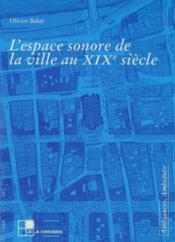 L'Experience Sonore De L'Espace - Couverture - Format classique