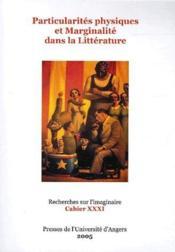 Particularités physiques et marginalité dans la littérature - Couverture - Format classique