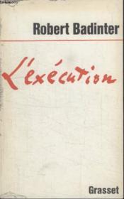 Lexecution. - Couverture - Format classique