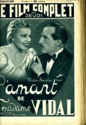 Le Film Complet Du Jeudi N° 1950 - 16e Annee - L'Aant D Madame Vidal - Couverture - Format classique