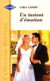Un instant d'émotion - Couverture - Format classique