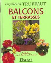 Encyclopedie Truffaut ; Balcons Et Terrasses ; Jardinieres Et Pots Fleuris Toute L'Annee - Intérieur - Format classique