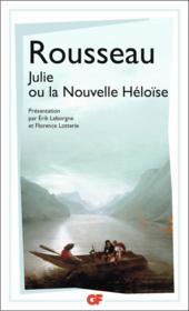 Julie ou la nouvelle Héloïse - Couverture - Format classique