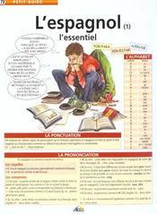 telecharger L'espagnol t.1 – l'essentiel livre PDF/ePUB en ligne gratuit