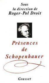 Presences de schopenhauer - Intérieur - Format classique