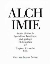 L Alchimie - Couverture - Format classique