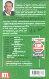 Stop aux arnaques ; le guide special santé - 4ème de couverture - Format classique