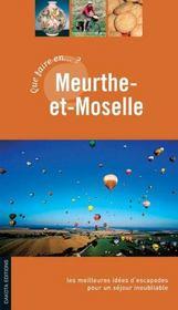 Que faire en Meurthe-et-Moselle ? - Intérieur - Format classique