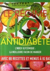 Le régime IG antidiabète - Intérieur - Format classique