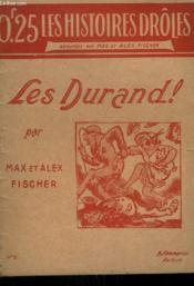Les Durand ! Collection : Les Histoires Droles N° 5. - Couverture - Format classique