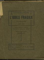 L'Idole Fragile. Poemes. 1897-1909. + Envoi De L'Auteur - Couverture - Format classique