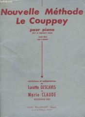 Nouelle Methode Le Couppey Pour Piano - Abc Et Alphabet Reunis. - Couverture - Format classique