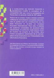 Comptabilites Nationales Et Normalisation Internationale - 4ème de couverture - Format classique