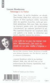 Tatouage A La Fraise - 4ème de couverture - Format classique