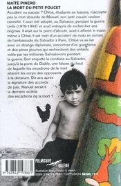 La Mort Du Petit Poucet - 4ème de couverture - Format classique