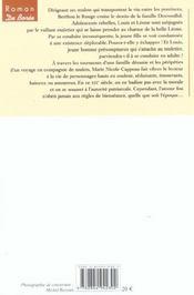 Mule Blanche (La) - 4ème de couverture - Format classique