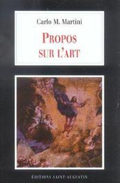Propos Sur L Art - Intérieur - Format classique