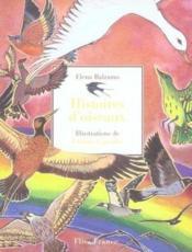 Histoires d'oiseaux - Couverture - Format classique