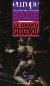 Europe Sade Le Grand Guignol N835 836 - Couverture - Format classique
