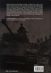 Caen juillet 1944 ; la bataille finale - 4ème de couverture - Format classique