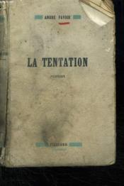 La Tentation. - Couverture - Format classique