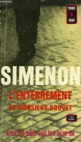 L' Enterrement De Monsieur Bouvet - Couverture - Format classique
