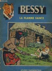 Bessy La Flamme Sainte - Couverture - Format classique
