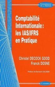 Manuel De Comptabilite Internationale ; Normes Ias-Ifrs - Couverture - Format classique